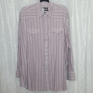 Panhandle Slim Pearl Snap Button Shirt SzXl